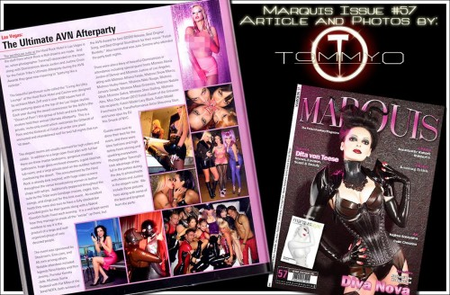 Marquis Magazine #57 Fetish Tribe